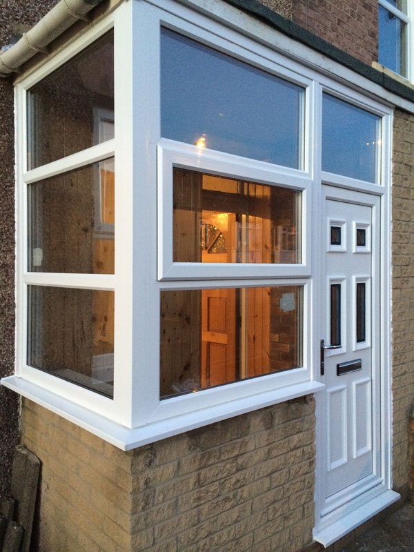 conservatory glass windows