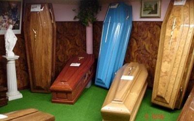 vendita cofani funebri