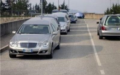 servizio funebre terremoto Abruzzo