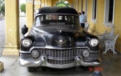 carro funebre d'epoca cubano