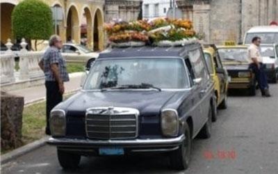 auto funebre Cuba