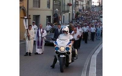 funerale vigile urbano Torino di Sangro