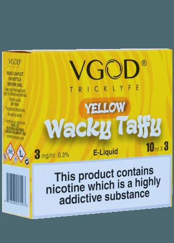 v god wacky taffy vape juice set