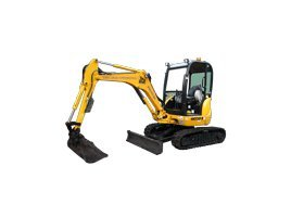 john lacey earthmoving p l yellow excavator