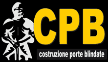 C.P.B. - COSTRUZIONE PORTE BLINDATE - LOGO
