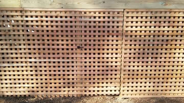 lattice work in benton
