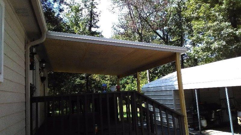 deck roof in arkansas
