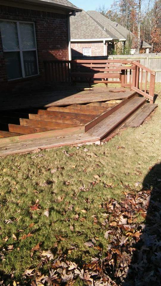 deck restoration benton, ar