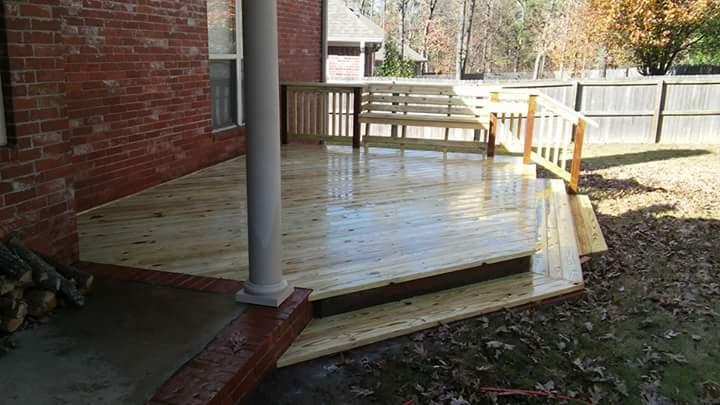 deck restoration central arkansas