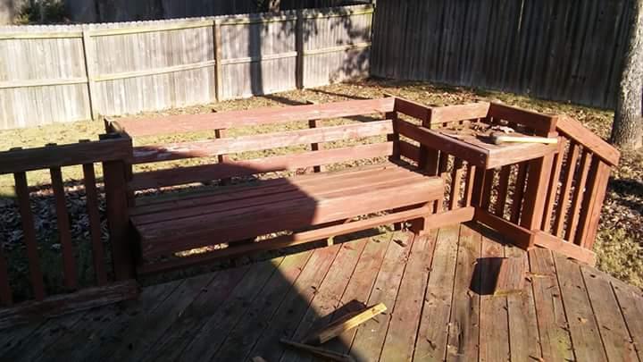 deck restoration benton