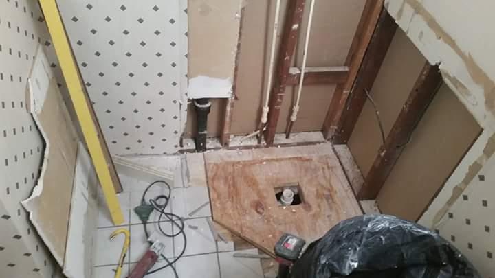 shower remodel in benton