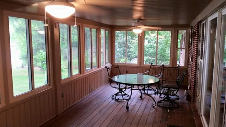 back deck makeover in benton