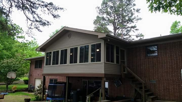 back deck remodel in benton