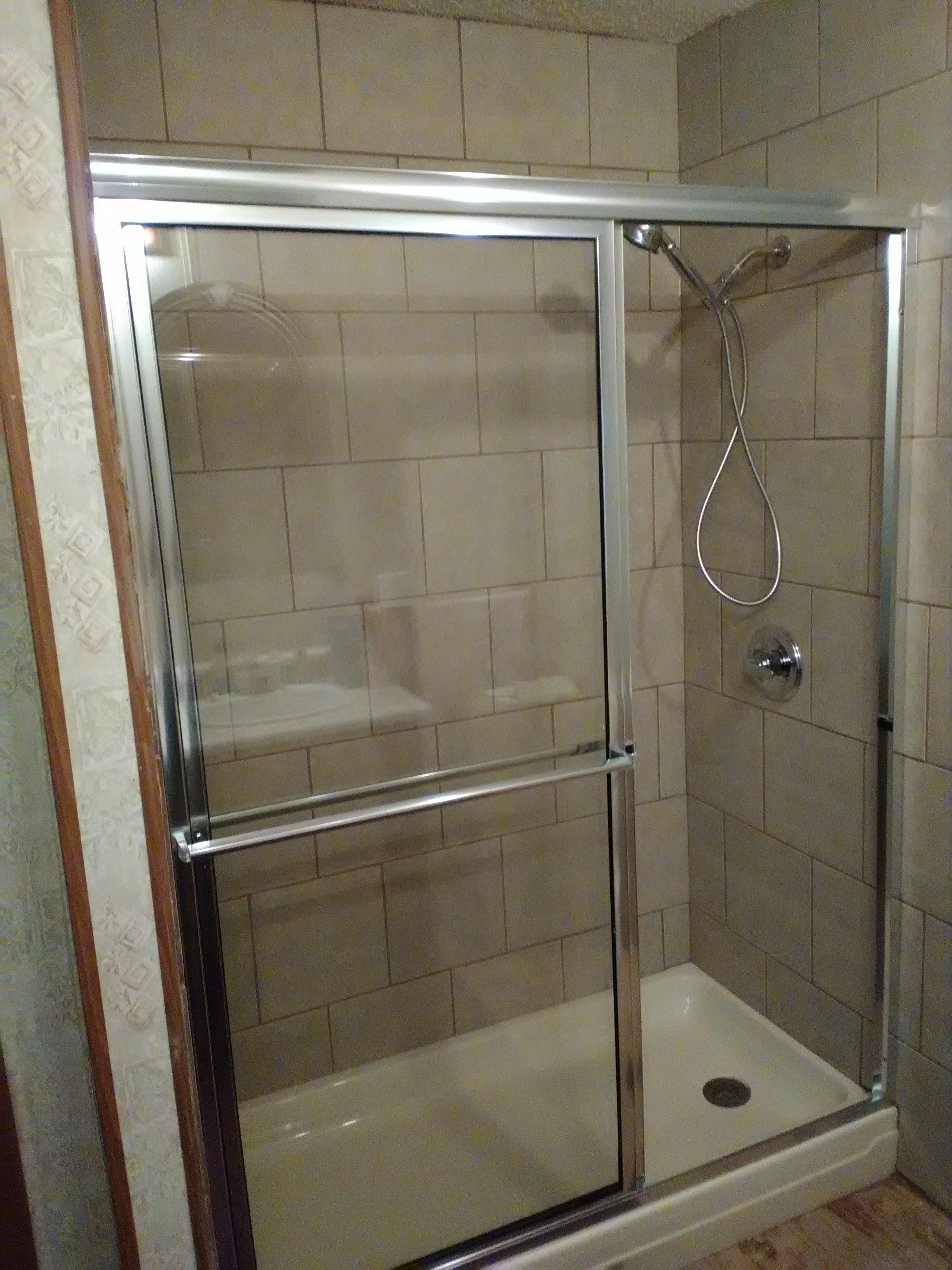 shower installation in central arkansas