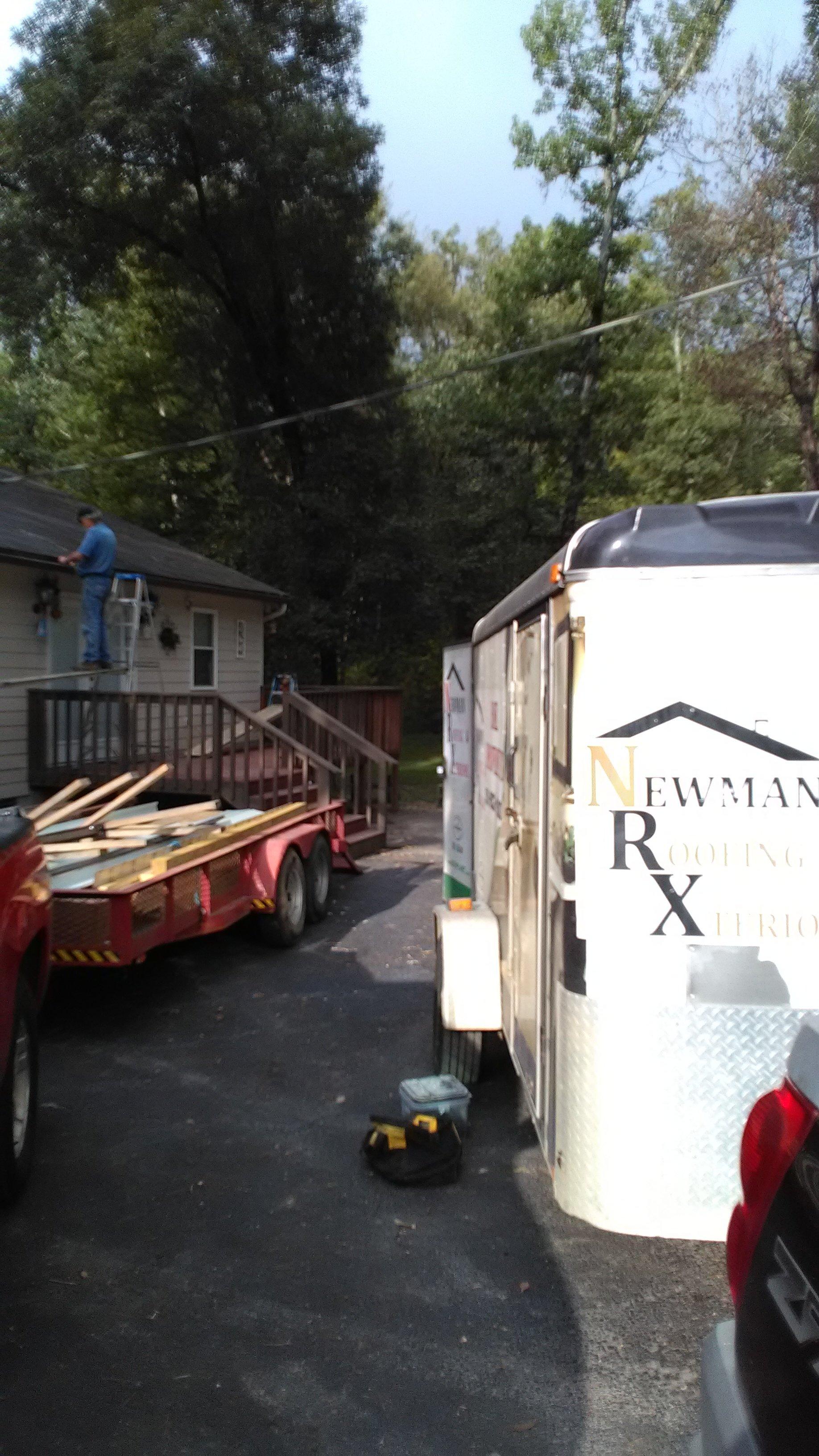 deck roof in benton