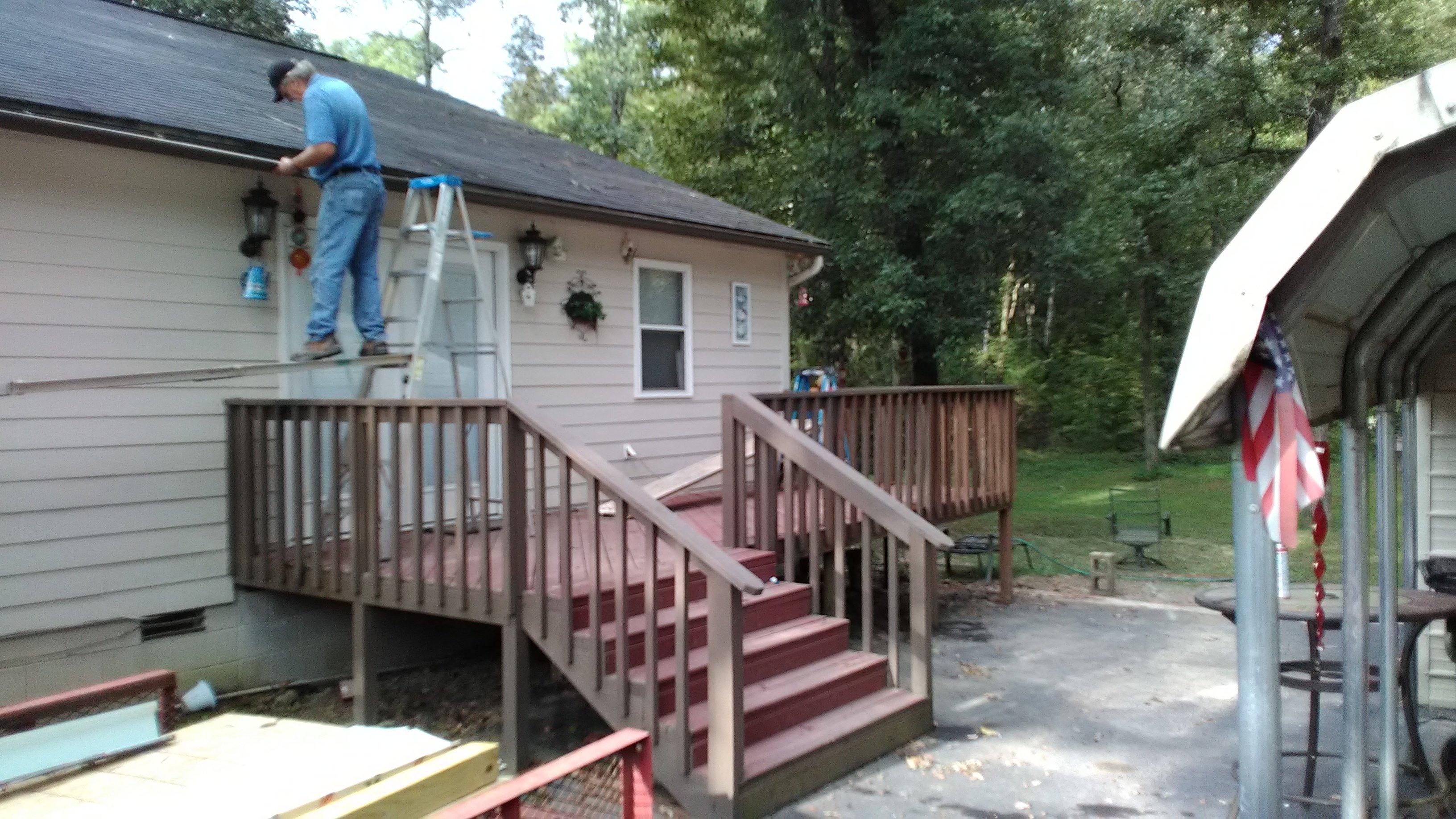 deck roof in benton, ar
