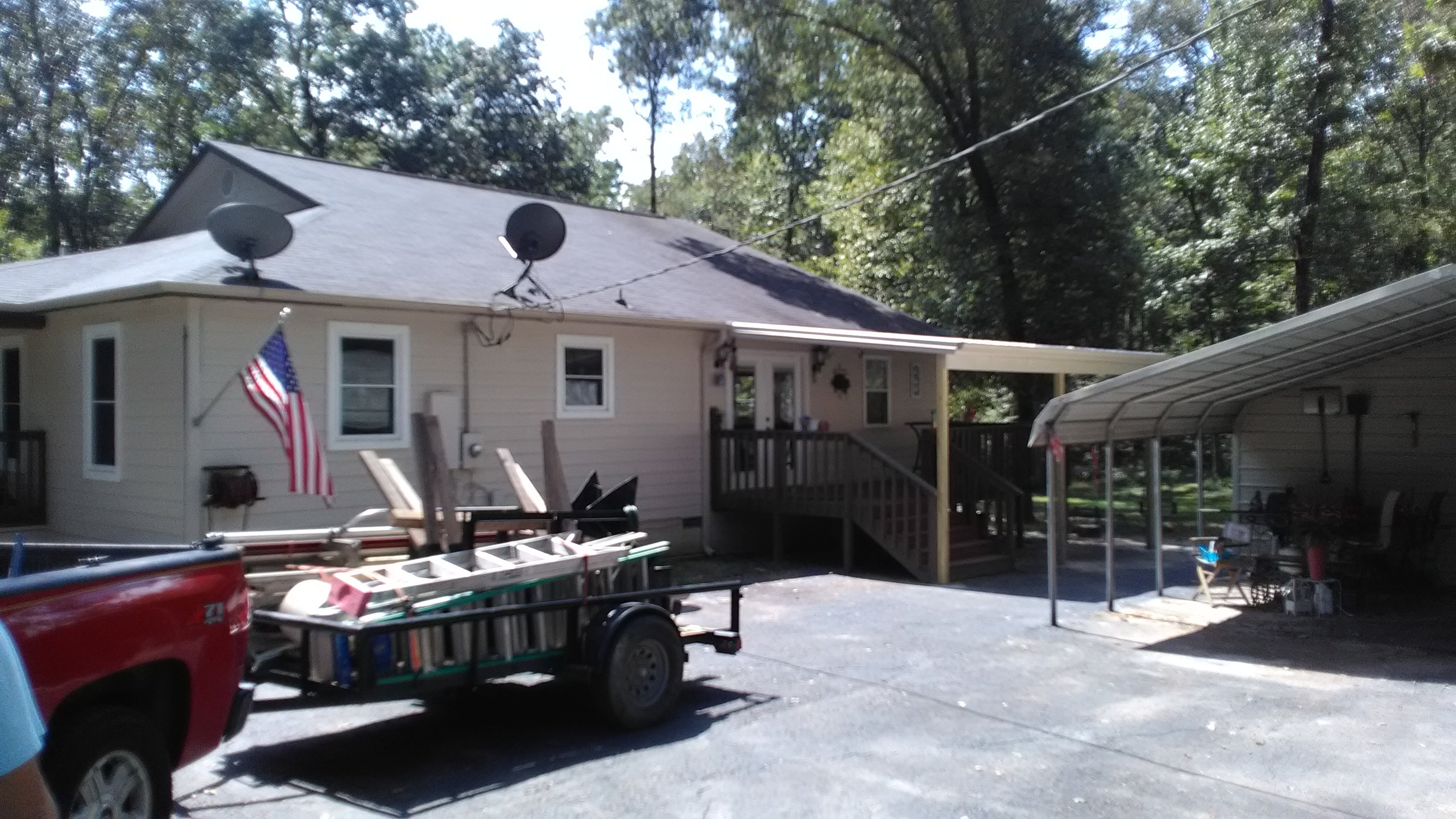deck roof in central arkansas