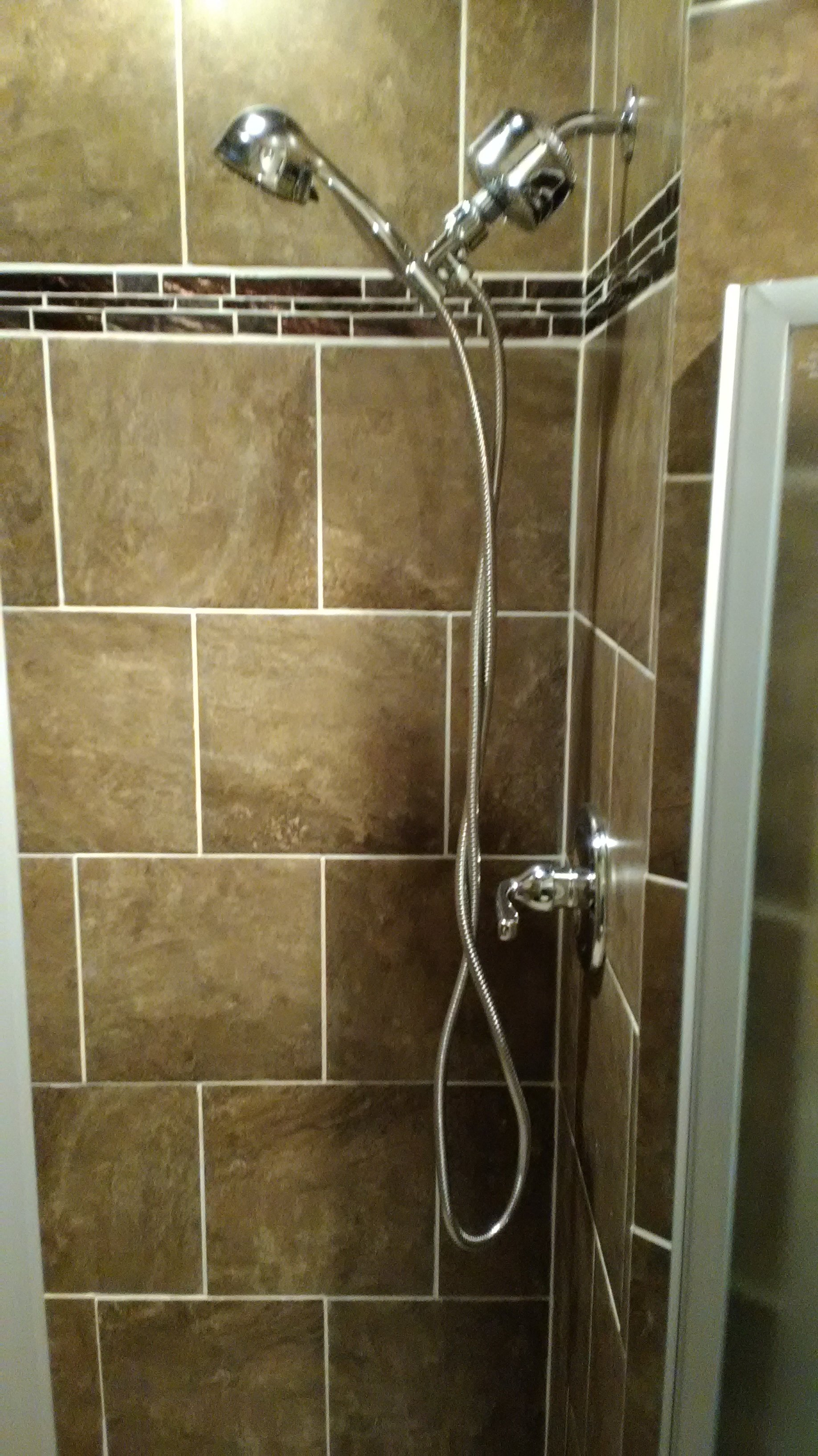 new shower in benton, ar
