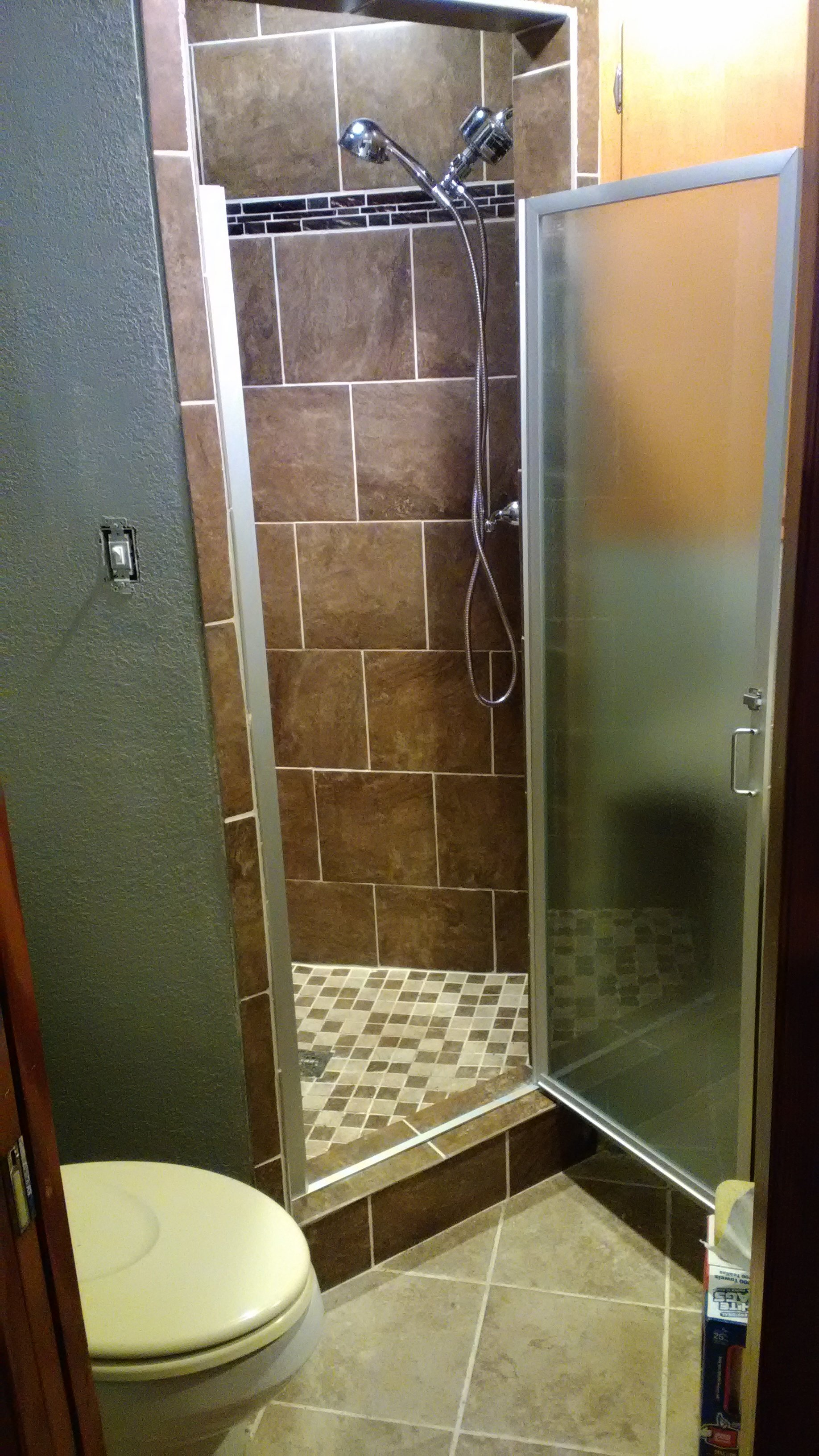 new shower in benton