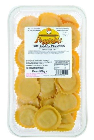 tortelli with percorino cheese
