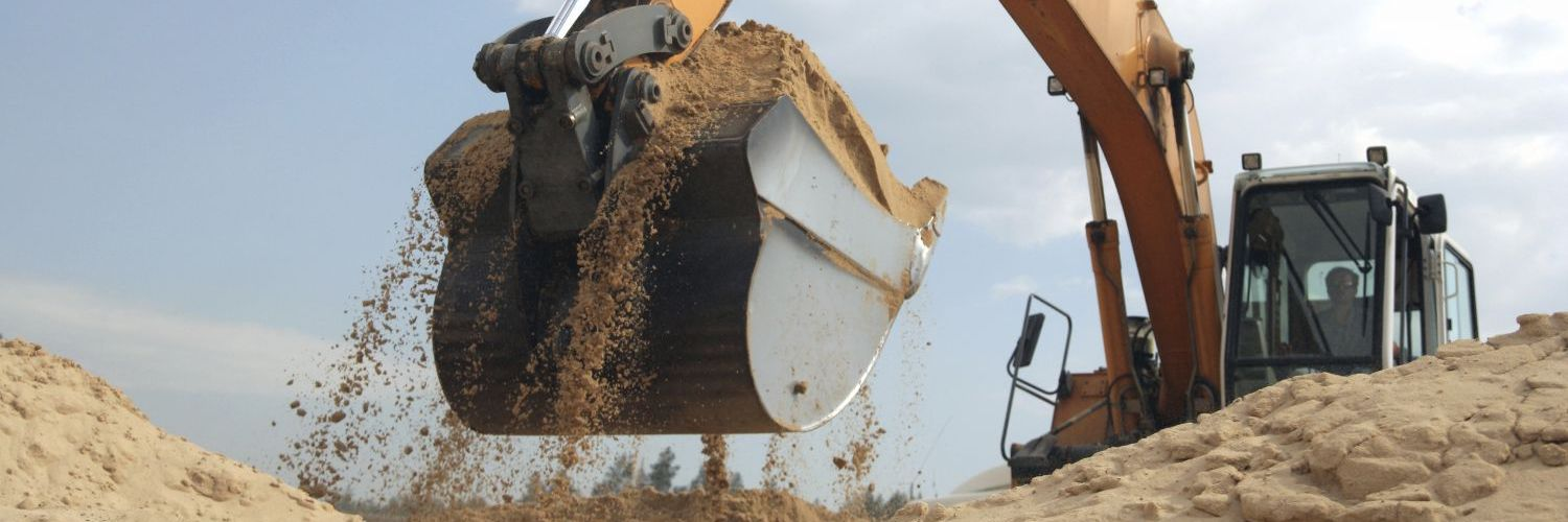 Earthmoving machinery from our excavation contractor in Black Creek, WI