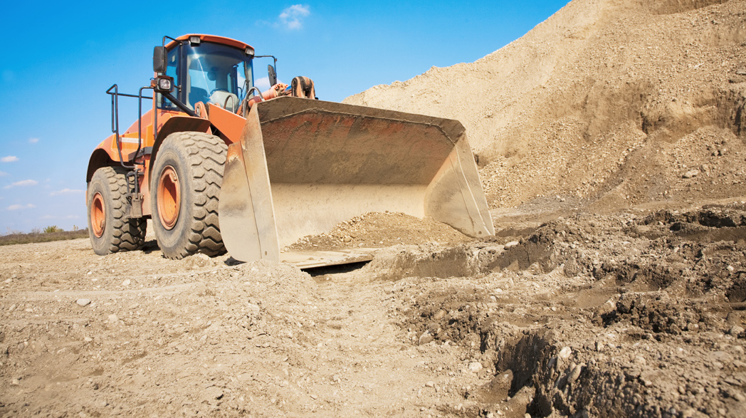 Excavation contractor at work in Black Creek, WI