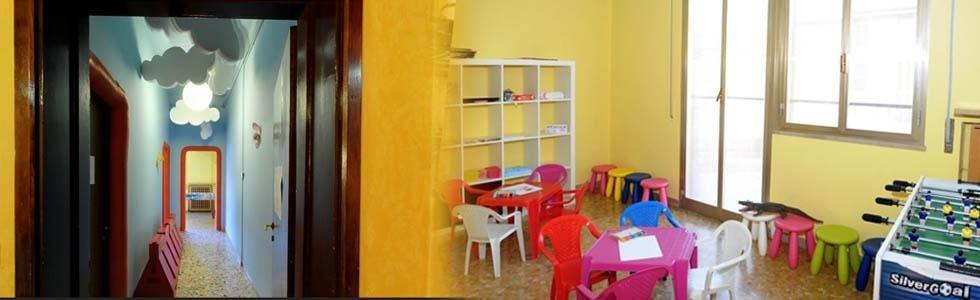 zona bambini ristorante