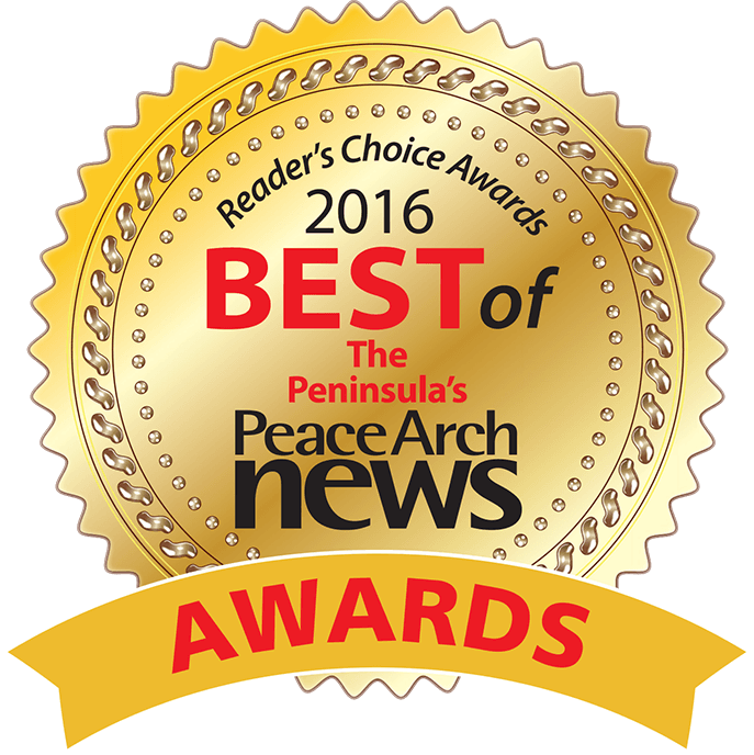 2016 Peace Arch News Reader's Choice Awards logo