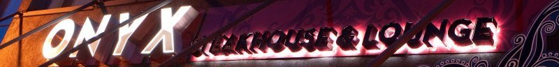 Onyx Steakhouse at White Rock