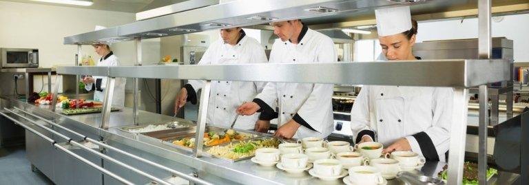 Attrezzature per cucine professionali