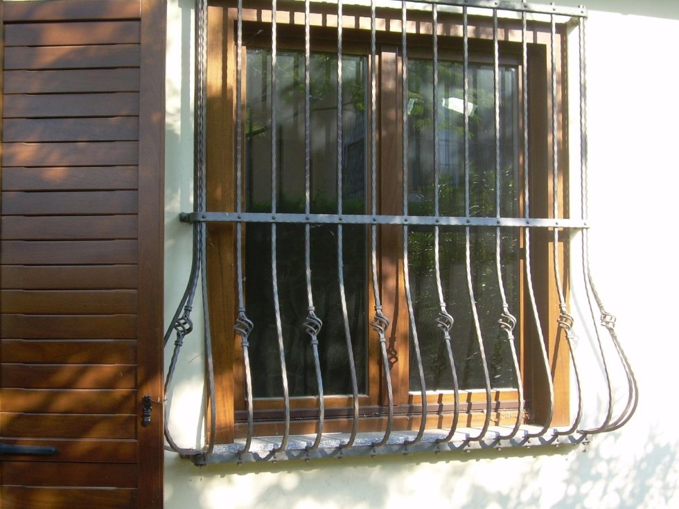 Grate per balconi