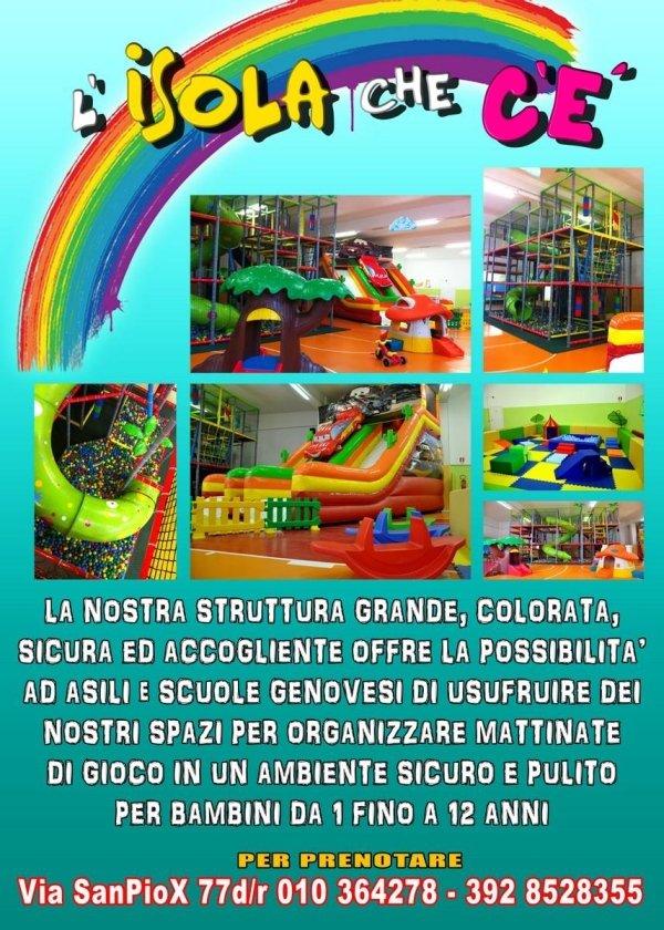 mattinate di gioco per scuole e asili