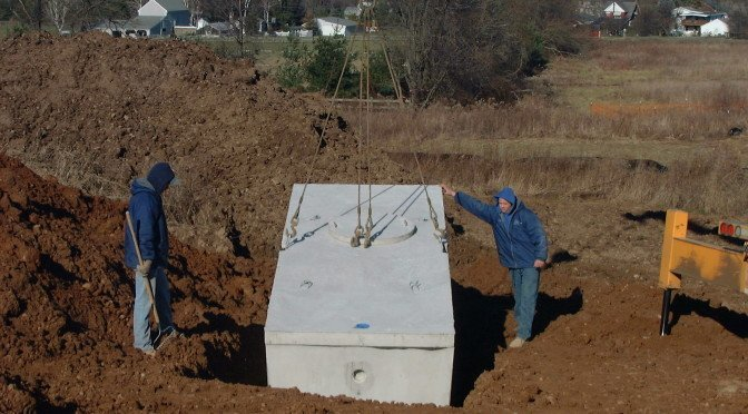 Allstate Septic Systems New Septic Tank Installation