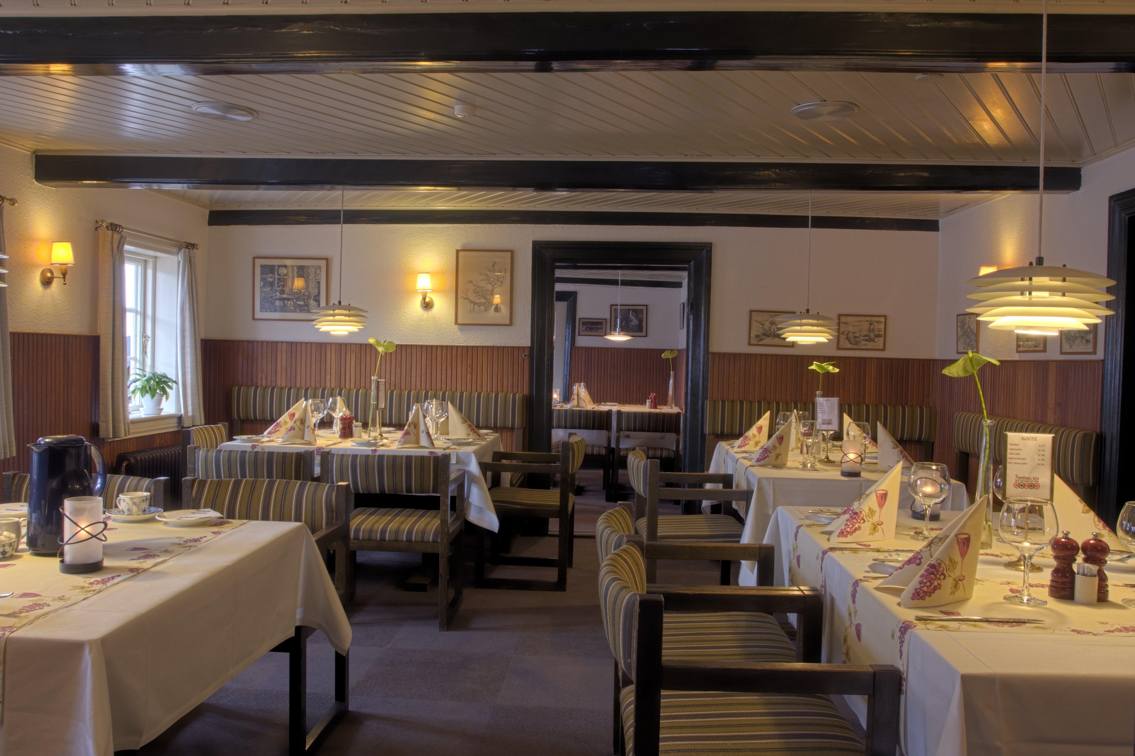 Hotel hovborg kro restaurant og a la carte for Bistro hotel