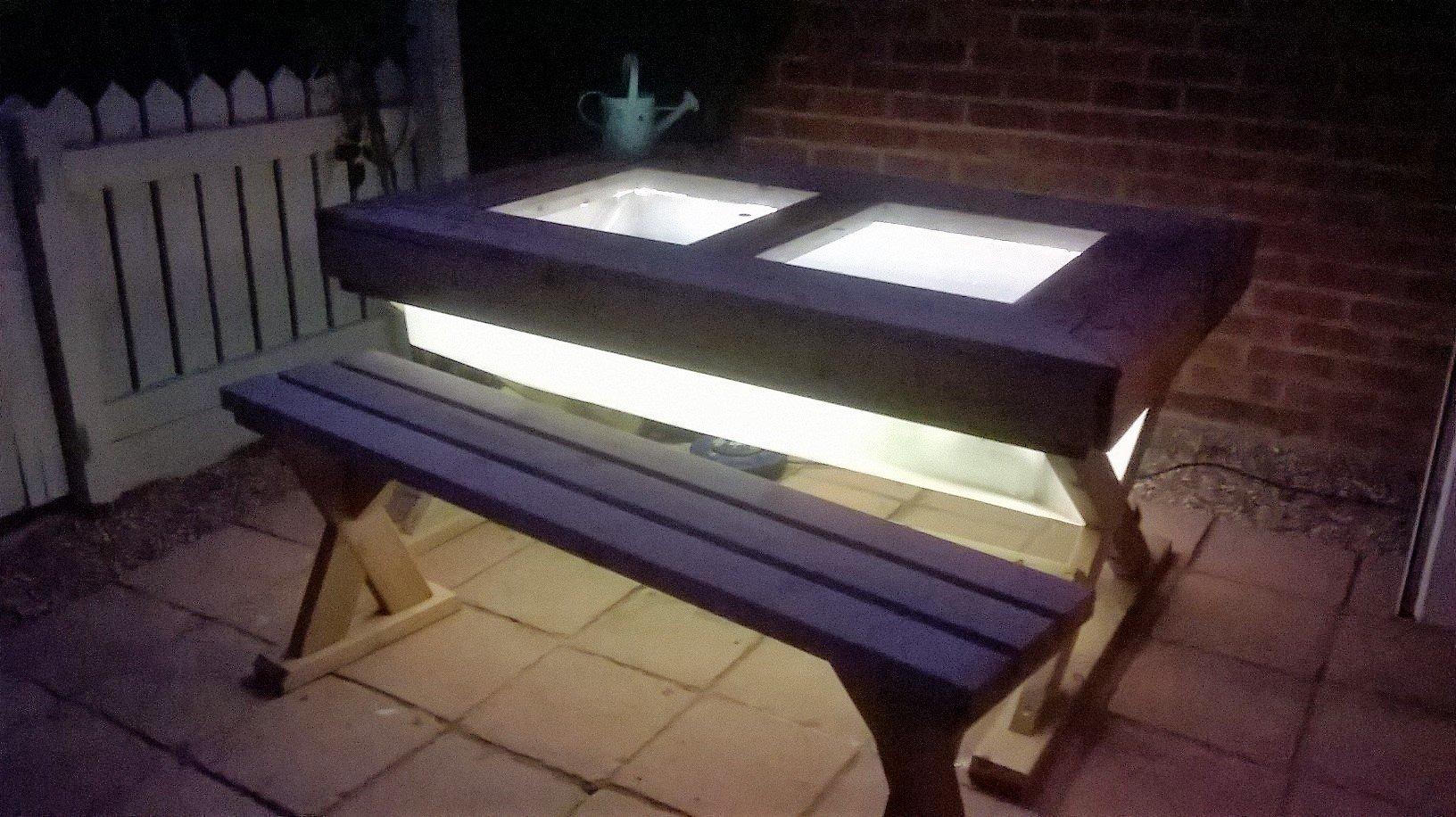 Unique Fish tank table