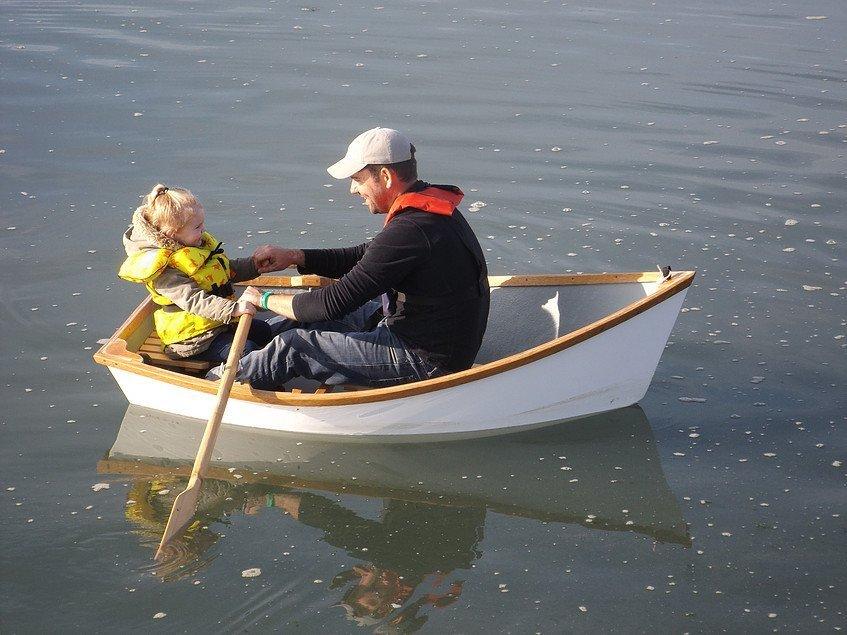 Angler in water