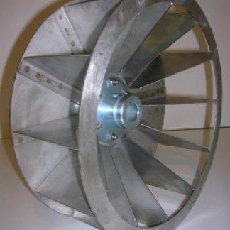 centrifughe speciali, ventole a pala aperta, centrifughe in acciaio