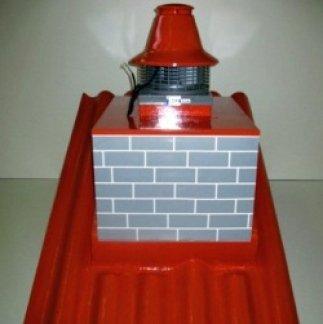 aiuto camino da tetto, ventilazione camino, ventilazione domestica