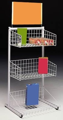 metal wire display stands