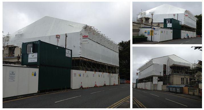 Warehouse scaffolding