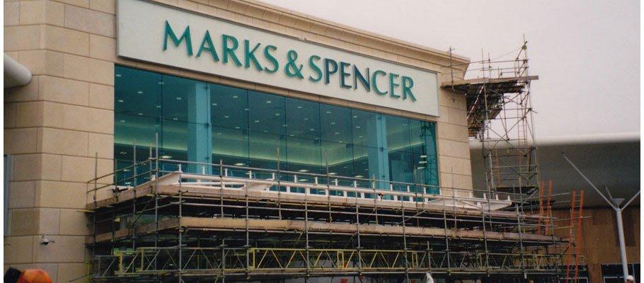 Shop scaffolding