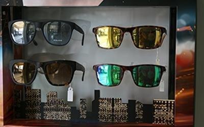 occhiali a specchio police pisa