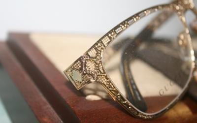 particolare occhiale gucci pisa