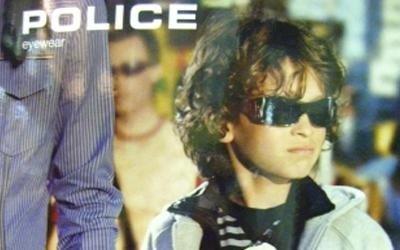 occhiali da sole bambini police pisa