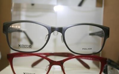 occhiale nero police pisa