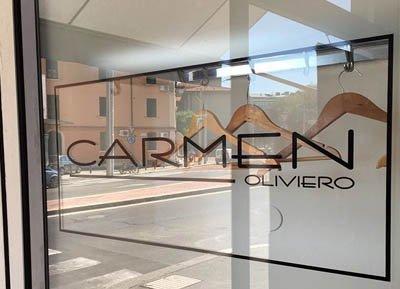 Vetrofania Carmen Oliviero