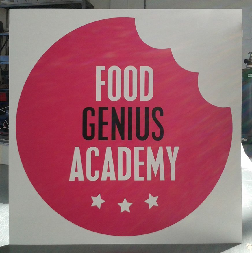 Logo Food Genius Academy