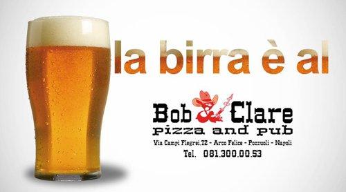 insegna pubblicitaria Bob & Clare