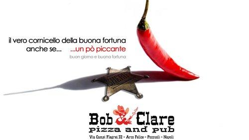 Locandina Bob & Clare pizza e pub - specialità panini