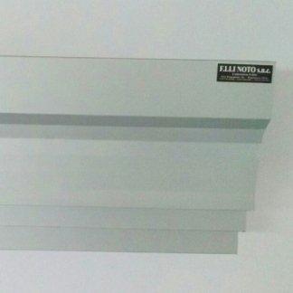 Mod. Europa sez. 38 in alluminio satinato